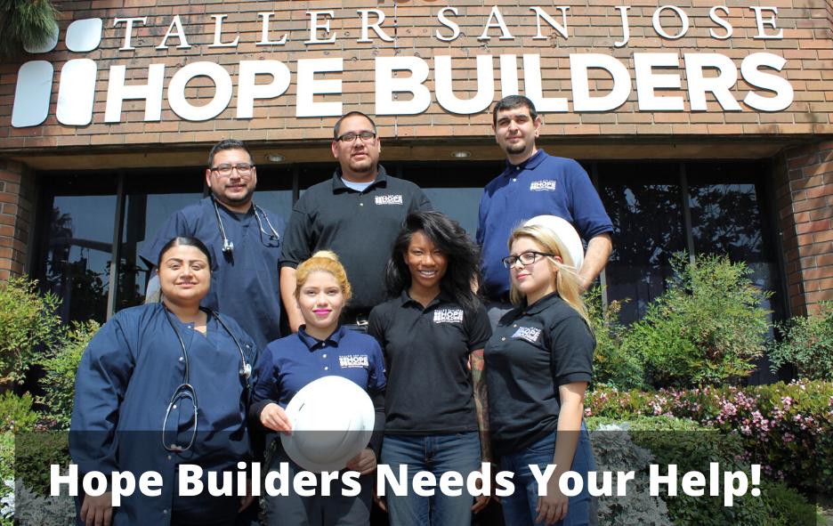 Hope Builders Needs Your Help!